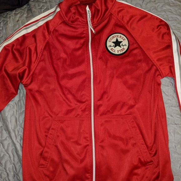 Converse Other - Red Converse Jacket
